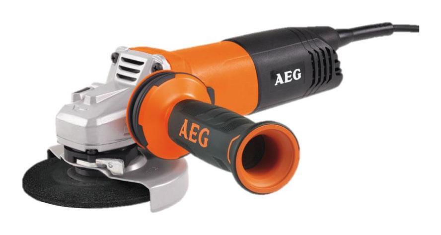 Bruska úhlová malá WS 13-125 SXE AEG, regulace otáček